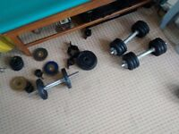 Weightlifting cast iron plates / dumbbells wanted