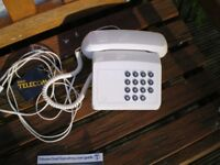 Vintage BT tribune telephone, Bell ringing