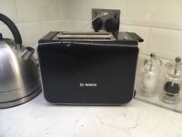 Lightly used black Bosch Toaster