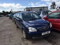 Kia Carens 2004 year diesel - Spare Available