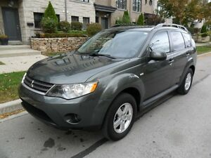 2009 Mitsubishi Outlander LS, 4X4, AWD, CERTIFIED, NO ACCIDENTS