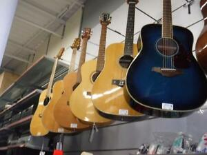 Come to Cash Pawn to get your hands on a Electric, Acoustic, or Bass Guitar! Call or Visit us today!