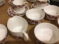 Ridgway English bone china tea set