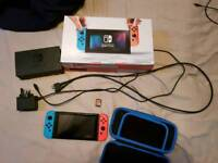 Nintendo Switch + zelda breath of the wild