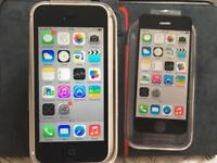 iPhone 5C EE / Virgin white Very Good Condition