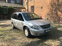 CHRYSLER VOYAGER 2.5 CRD 2002 5 SPEED MANAUL