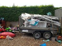 indespension twin axel trailer 10ftx5.5ft 2.6 tonnes