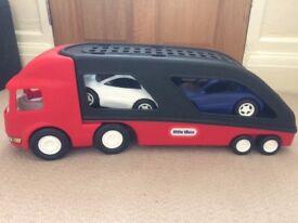 Little tikes large car transporter