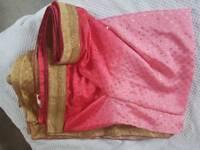 Pink/Gold Sari