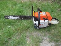 Stihl 038 Super Petrol Chainsaw.
