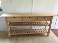Consul Table in excellent condition (beech)