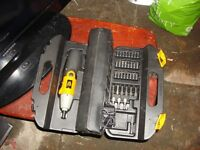 jcb drills kit ,air hammer kit ,air spray gun new all ready to go