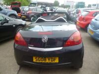 Vauxhall TIGRA,1364 cc Hard top Convertible,full heated leather interior,FSH,only 44,000 miles
