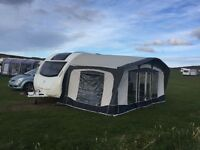 Bradcot Olympian awning for Swift Sprite Musketeer TD