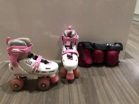 SFR adjustable roller skates (from size 12J to size 2)
