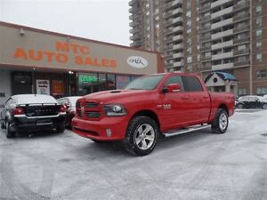 2013 Ram 1500 Sport, LEATHER, BACKUP CAM