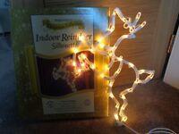 Reindeer Xmas Window Lights