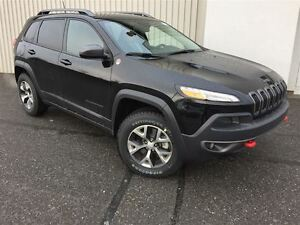 2017 Jeep Cherokee Trailhawk +Cuir, Hitch, Temps Froid+