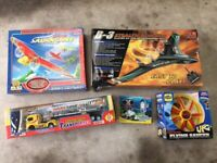 Radio Control Stealth Bomber, Aeroplane, Diving Submarine, UFO and Tanker Articulated Lorry Models