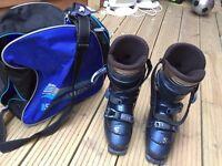 Salomon Ski Boots & boot bag