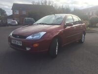 REDUCED !!! FORD FOCUS 1.8GHIA 4 DOOR FULL FORD SERVICE HISTORY 12 MONTHS MOT VERY LOW MILAGE 56K