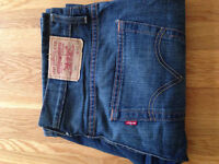 "Levi Strauss & Co Men's 507 Bootcut Jeans (34""W x 32""L) (never worn)"