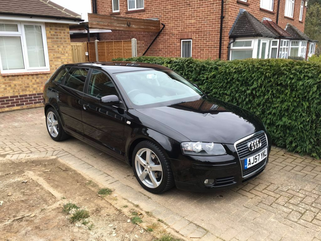 audi a3 sportback 2 0 tdi 2007 57 reg sport trim phantom black 105k miles in maidenhead. Black Bedroom Furniture Sets. Home Design Ideas