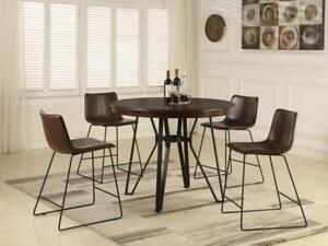 Pub Height Dining Set with 4 Chairs (KA213)