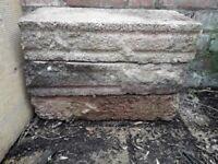 4 Free Concrete Blocks