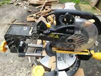 Pro plus compound slide maitre saw