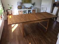 Large dining table - oak
