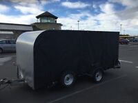 Covered Single Axle Woodford Car Transporter