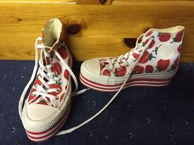 New Converse Size 3 Trainers Limited Edition