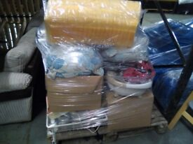 pallet of mixed items ideal for car booter