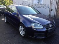 2007-08 VW GOLF MK5 2.0 GT TDI AUTO BLUE 'BREAKING' parts for sale