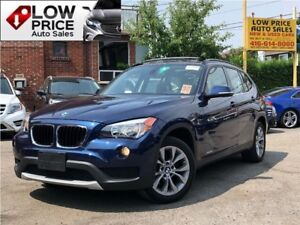2014 BMW X1 PanoramicRoof*HtdSeats*Bluetooth*FulllOpt*