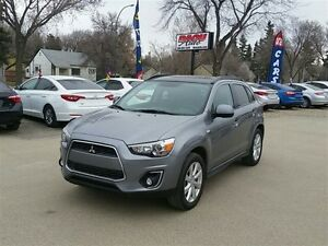 2014 Mitsubishi RVR AWD GT Sunroof w/Back up camera