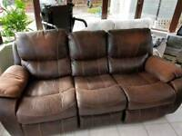 FREE FOR UPLIFT. 3 seater sofa & Armchair