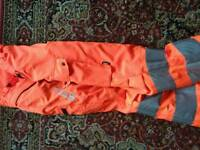 Stihl chainsaw trousers
