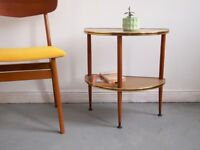 Vintage Retro 1950's Formica Side Table