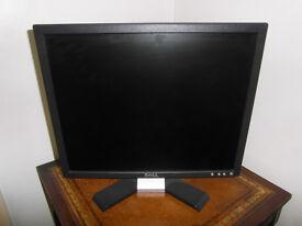 Dell PC Monitor Black 19 inch