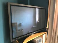 "Panasonic Plasma TV 42"" (requires external speakers)"