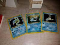 Rare shinny Pokemon cards