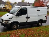 2005 IVECO DAILY SWB PANEL VAN 29 10 2.3 UNIJET CHEAP VAN TRANSIT