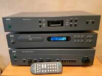 Nad retro Hi fi seperates amplifier tuner cd