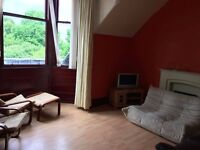 Flatmate wanted for 2-bedroom flat. 123 West Princes Street.