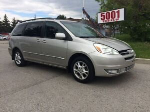 2004 Toyota Sienna XLE,LTD,AWD,188K,SAFETY+3YEARS WARRANTY INCLU