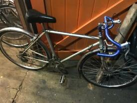 Peugeot Townsend Gents Racer/Road Bike. Good condition. Free Lock, Lights & Delivery.