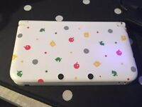Nintendo 3DS XL Animal Crossing Edition W/ NFC reader (No Game)