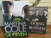 GET EVEN BY MARTINA COLE, AND DOING THE BUSSINESS BY CHARLIE KRAY